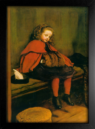 Imagem do Millais - My Second Sermon