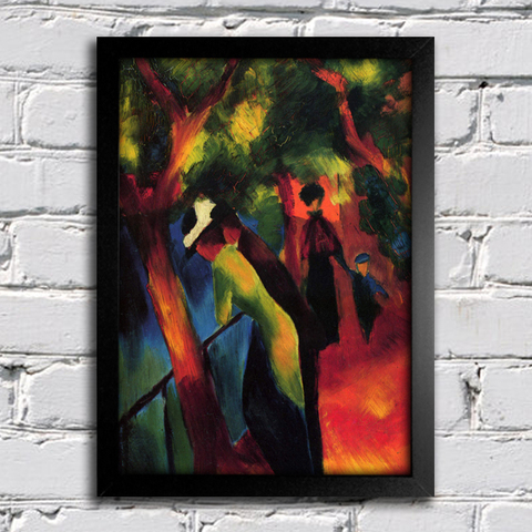 August Macke - Sunny Way - comprar online