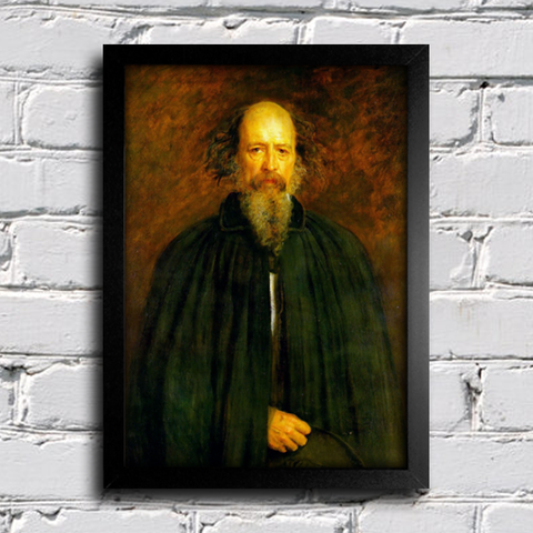 Millais - Portrait of Lord Alfred Tennyson