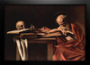 Imagem do Caravaggio - St Hieronymus Writing