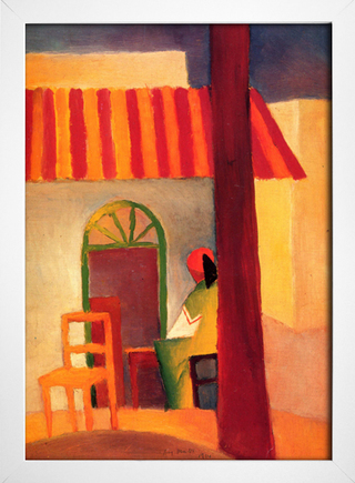 Imagem do August Macke - Turkish Cafe I