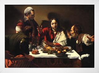 Caravaggio - Supper at Emmaus - loja online