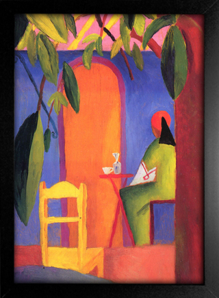 August Macke - Turkish Cafe II - loja online