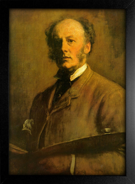 Imagem do Millais - Self Portrait