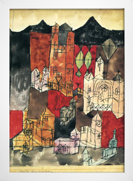 Paul Klee - City of Churches - loja online