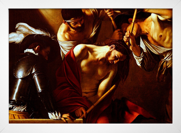 Caravaggio - The Crowning With Thorns - loja online
