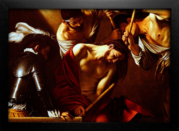 Imagem do Caravaggio - The Crowning With Thorns