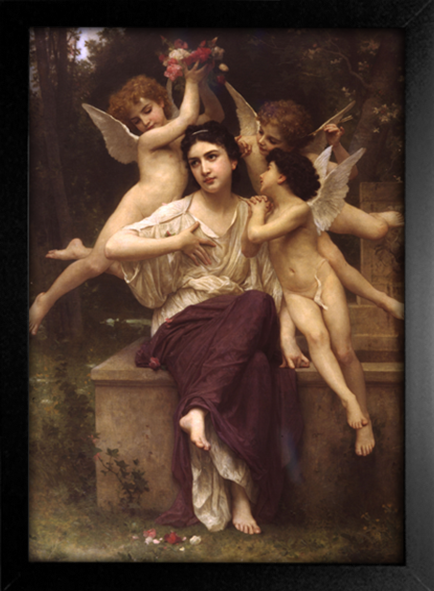 Imagem do Bouguereau - Reve de Printemps