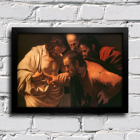 Caravaggio - The Incredulity
