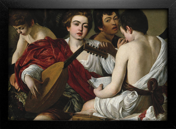 Imagem do Caravaggio - The Musicians