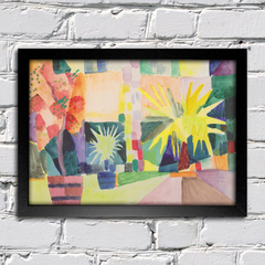 August Macke - Garden on Lake Thun - comprar online