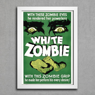 Poster White Zombie - comprar online