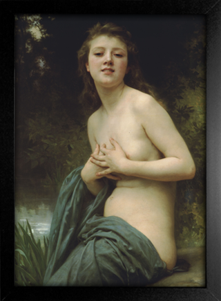 Imagem do Bouguereau - Spring Breeze