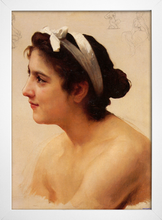 Bouguereau - Study of a Woman - loja online