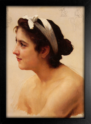 Imagem do Bouguereau - Study of a Woman