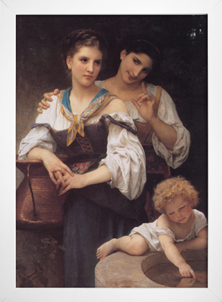 Bouguereau - The Secret - loja online