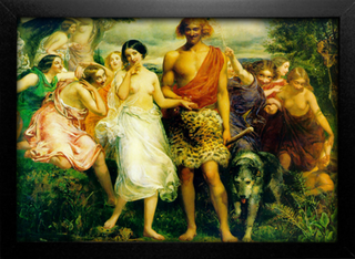 Imagem do Millais - Cymon and Iphigenia