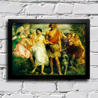 Millais - Cymon and Iphigenia - comprar online