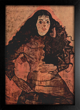Imagem do Egon Schiele - Portrait of Trude Engel