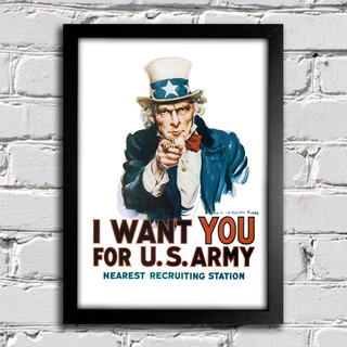 Poster I Want You To US Army