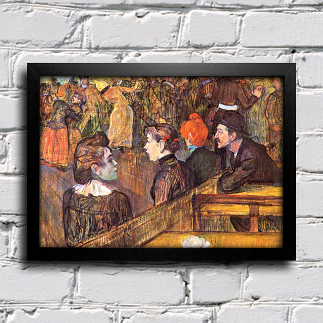 Toulouse Lautrec - Ball at the Moulin de la Galette - comprar online