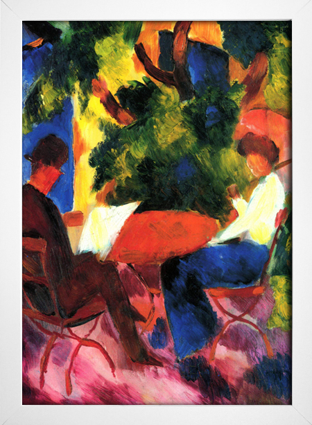 Imagem do August Macke - At The Garden Table