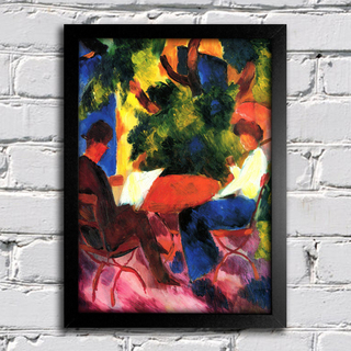August Macke - At The Garden Table - comprar online