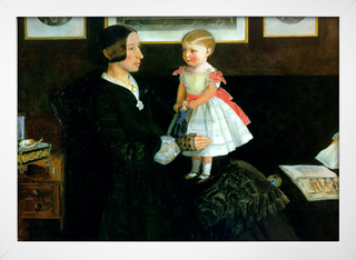 Millais - Portrait of mrs James Wyatt - loja online