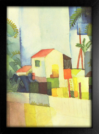 August Macke - Bright House - loja online