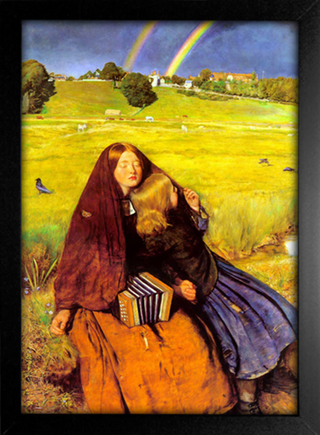 Imagem do Millais - Blind Girl