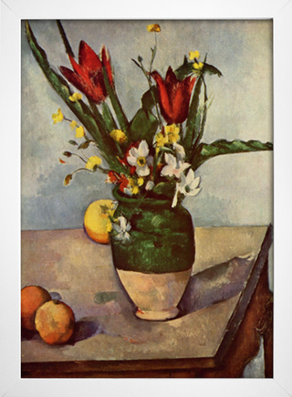 Cezanne - Still Life  Tulips and Apples - loja online