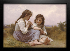 Imagem do Bouguereau - A Childhood Idyll