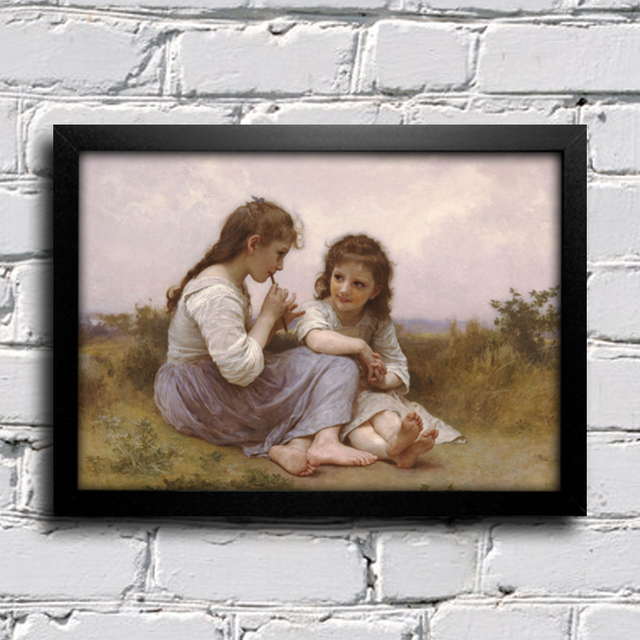 Bouguereau - A Childhood Idyll