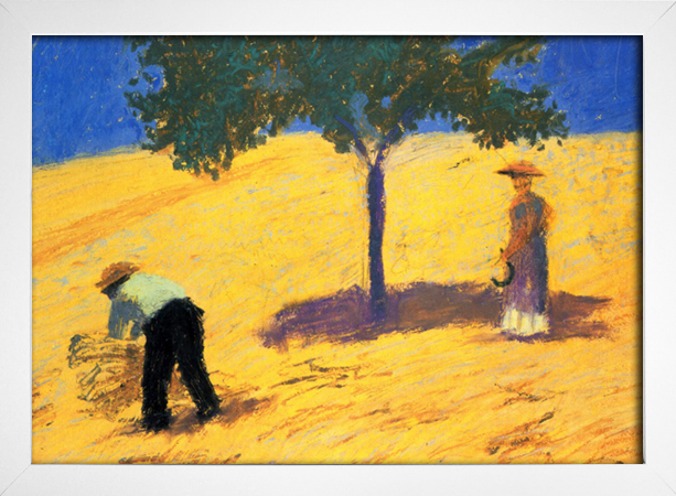 Imagem do August Macke - Tree in the Cornfield