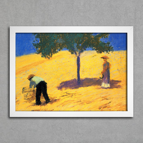 August Macke - Tree in the Cornfield - comprar online