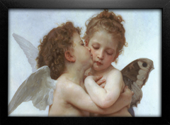 Imagem do Bouguereau - First Kiss