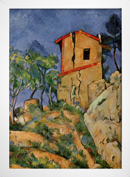 Cezanne - The House With Cracked Walls - loja online