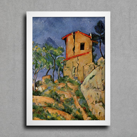 Cezanne - The House With Cracked Walls