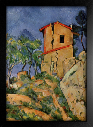 Cezanne - The House With Cracked Walls - comprar online