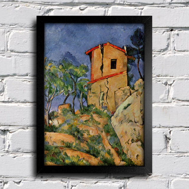 Cezanne - The House With Cracked Walls na internet