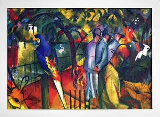 Imagem do August Macke - Zoological Garden