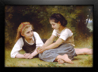 Imagem do Bouguereau - Then nut Gatherers