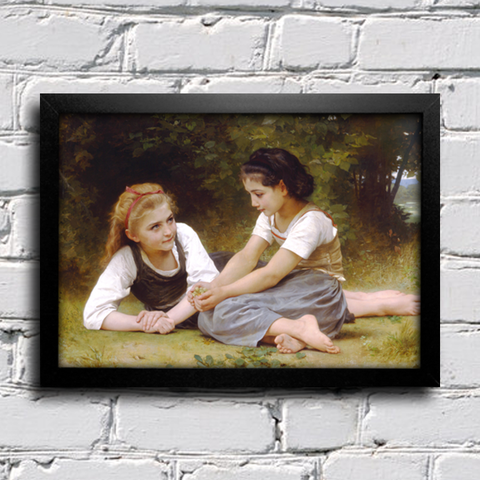 Bouguereau - Then nut Gatherers