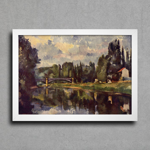 Cezanne - Bridge Over The Marne