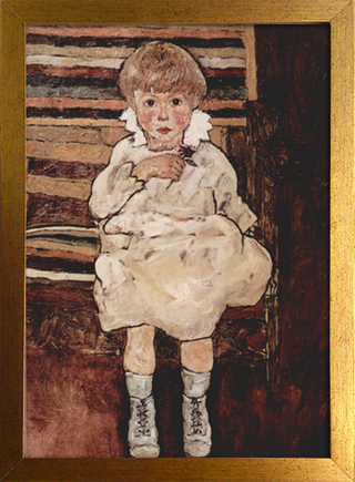 Egon Schiele - Seated Child - loja online