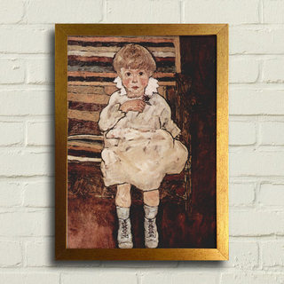 Egon Schiele - Seated Child - Encadreé Posters