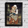Bouguereau - Breton Brother and Sister - comprar online