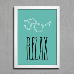 Poster Relax na internet