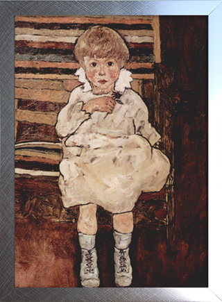 Imagem do Egon Schiele - Seated Child
