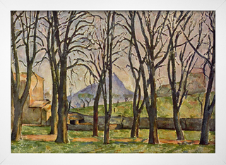 Cezanne - Chestnut Trees at the Jas de Bouffan - loja online